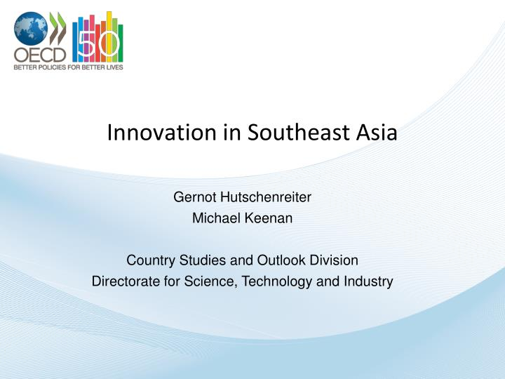 innovation in southeast asia n.