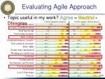 evaluating agile approach4