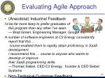 evaluating agile approach5