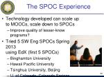 the spoc experience