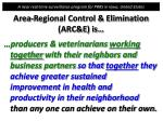 area regional control elimination arc e is