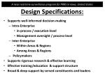 design specifications2