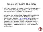 frequently asked question2