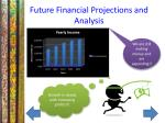 future financial projections and analysis
