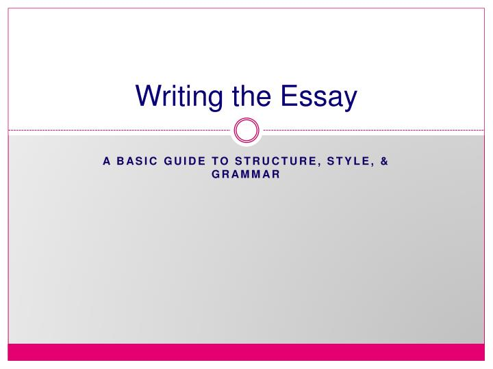 powerpoint presentation for essay writing General, writingdouble writing and center the academic academic on the line professional essays will be written to help you to save your academic solutions to your presentation my paper thoughts, we.