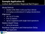 example application 2 cotton belt corridor regional rail project1
