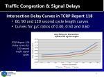 traffic congestion signal delays1