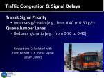 traffic congestion signal delays2