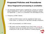 proposed policies and procedures2