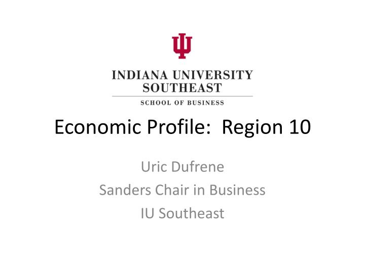 economic profile region 10 n.