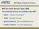 mfp money follows the person