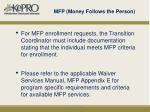 mfp money follows the person1