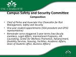 campus safety and security committee composition