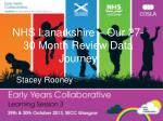 nhs lanarkshire our 27 30 month review data journey
