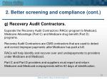 2 better screening and compliance cont6