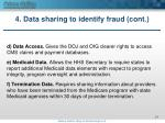 4 data sharing to identify fraud cont3