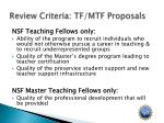 review criteria tf mtf proposals3