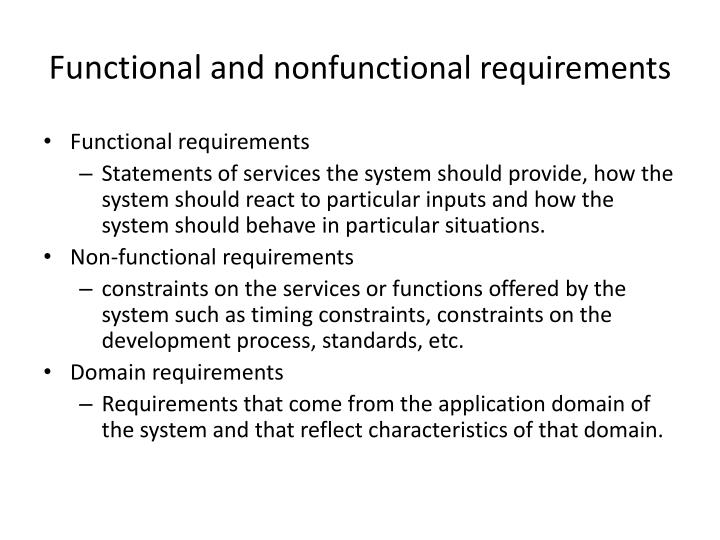 Functional and