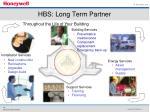 hbs long term partner