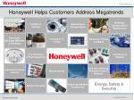 honeywell helps customers address megatrends
