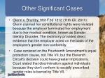 other significant cases2