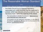 the reasonable woman standard cont eeoc v national education association 9th cir 2005