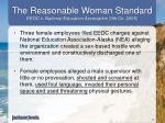 the reasonable woman standard eeoc v national education association 9th cir 2005