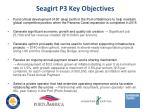 seagirt p3 key objectives