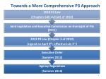 towards a more comprehensive p3 approach