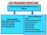 life program structure