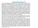 opening text chapter 13