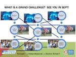 what is a grand challenge see you in sept