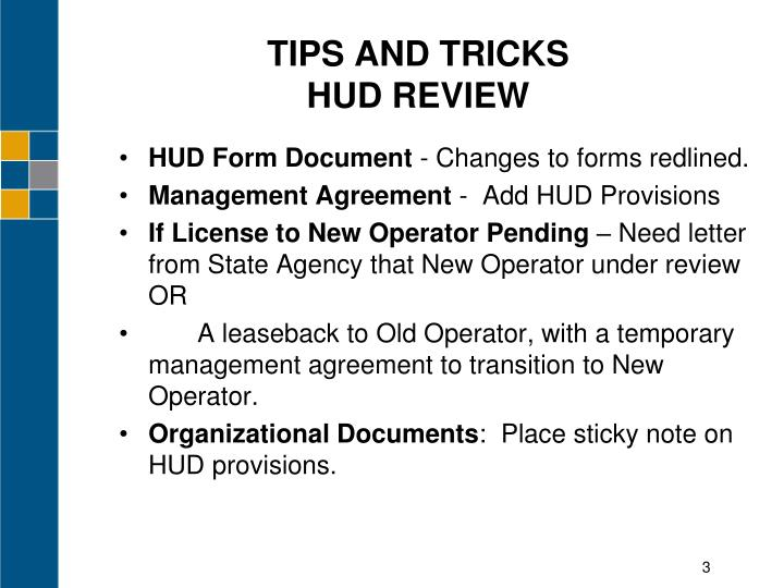 Tips and tricks hud review