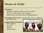themes motifs