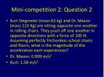 mini competition 2 question 2