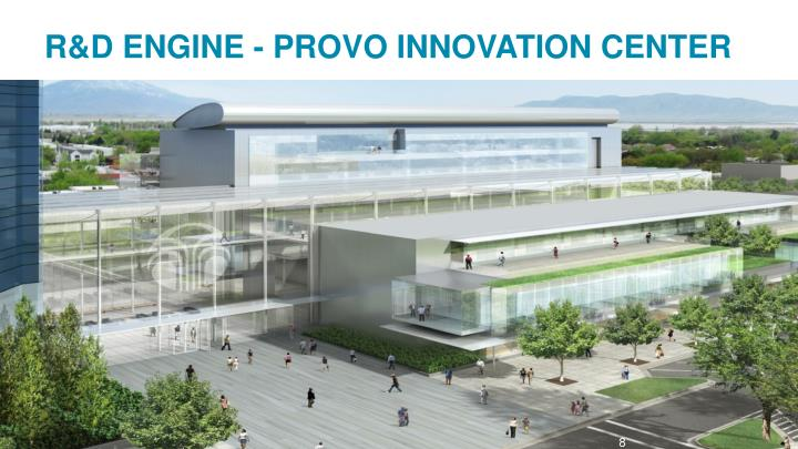 R&D ENGINE - PROVO