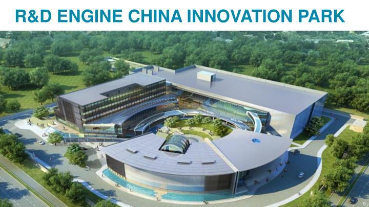 R&D ENGINE CHINA INNOVATION PARK