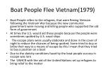 boat people flee vietnam 1979