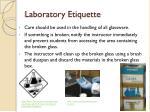laboratory etiquette2