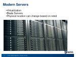 modern servers