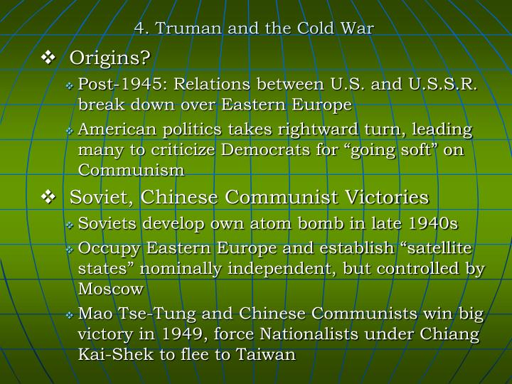 4 truman and the cold war n.