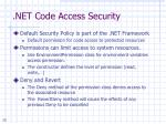 net code access security