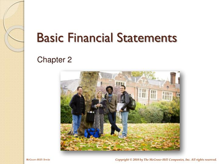 basic financial statements n.