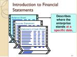 introduction to financial statements1