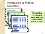 introduction to financial statements2