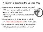 proving a negative the science way