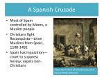 a spanish crusade