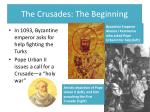 the crusades the beginning