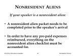 nonresident aliens