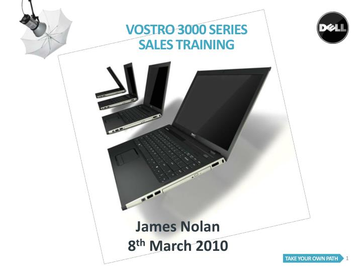vostro 3000 series sales training n.